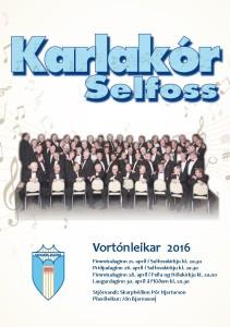 Vortónleikar 2016